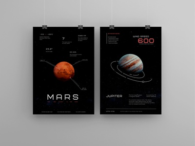 Space posters space poster illustration brand poligraphy photoshop font typography style design
