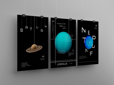 Space posters space fonts poster poligraphy font typography style design