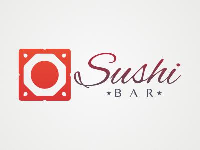 Sushi Bar Logo affinitydesigner vectorlogo logodesign logo bár bar sushi