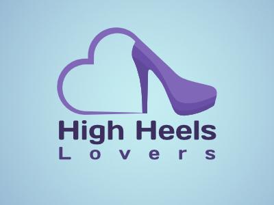 High Heels Lovers design logodesign logo magassarkú heels high