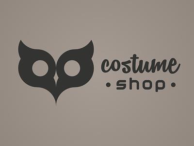 Costume Shop Logo design logo shop costume