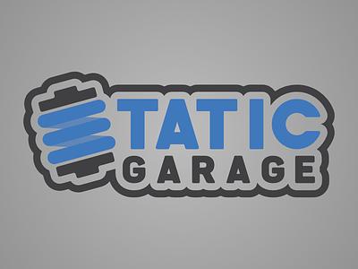 Static Garage Logo garázs garage rugó suspension static car