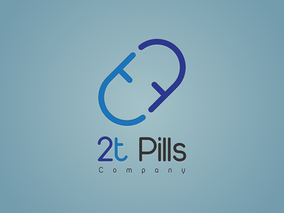 2t Pills Logo1 logodesign design logo tt t pills