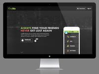 FindMe App Landing Page