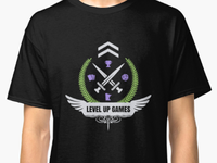 Shirt Design Contest Win - Level Up