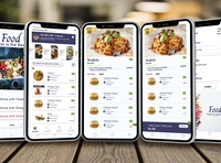 food mobile design