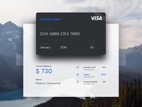 Credit Card - Current Balance