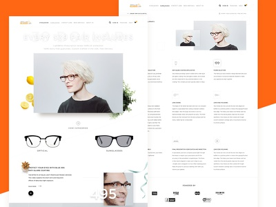39dollarglasses Sites marketplace glasses idea visual ux ui website