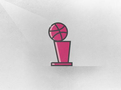 NBA Finals - Debut finals texture spotlight basketball nba finals nba pink trophy obrien trophy