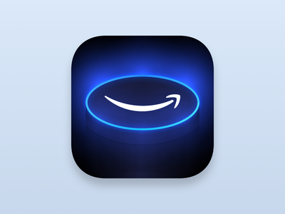 Daily UI challenge #005 — App Icon 005 daily ui app icon alexa echo amazon redesign