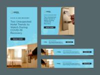 Banner Ads - COVID-19 Blog - Onyx composition photoshop illustrator indesign digital ads digital marketing digital banner ad banner design graphic design