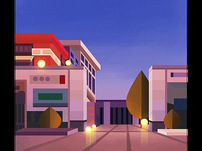 Architecture - 2 architecture 建筑 设计 插图 illustration design