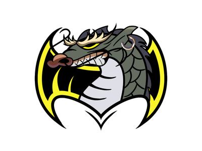 Dragon animal logo 设计 插图 illustration design