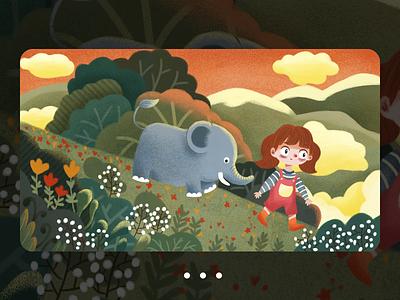 Adventure by chance-NO.1 设计 插图 illustration design
