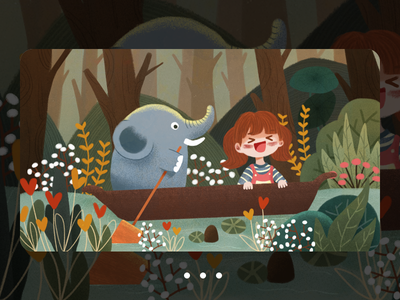 Adventure by chance-NO.2 插图 设计 illustration design