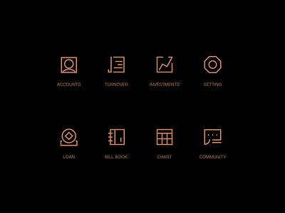 Icon web ui icon design