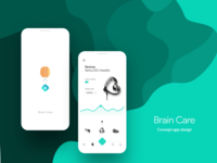 Brain care App ( concept design )