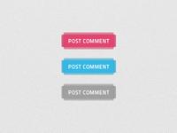 Buttons set - lighter background