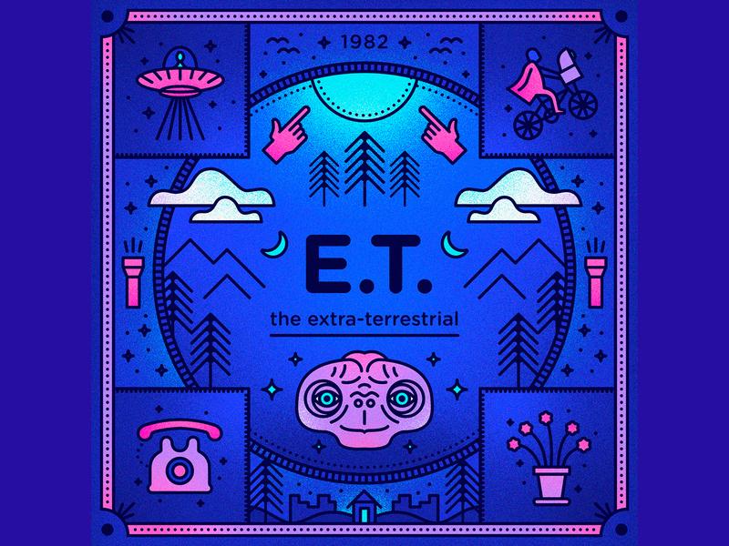 E.T. the Extra-Terrestrial monoline movies halloween costume e.t. steven spielberg alien steven universe space retro movie