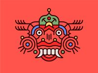 Japanese inspired mask