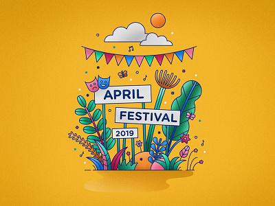 Aprilfestival 2019 dance music spring summer festival celebration theatre