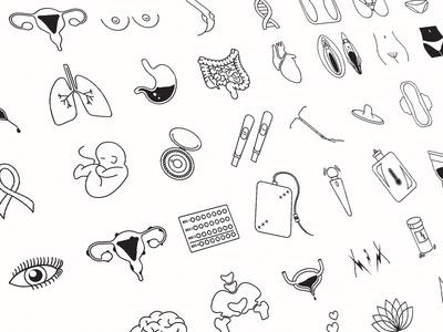 Women's Health Icons