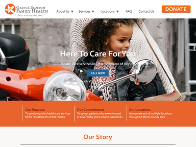HCCH Mockup non profit mock up web design