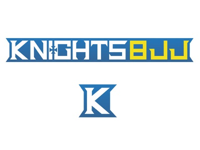 Knights Bjj Site Logo illustration bjj design logo