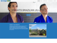 Knights Bjj Web Site Mock Up