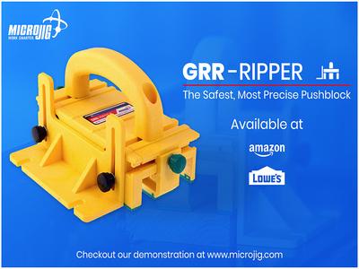 Grrripper Insert for Micro Jig Art Test
