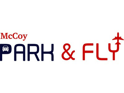 Mc Coy Park & Fly Logo typography illustration design branding logo