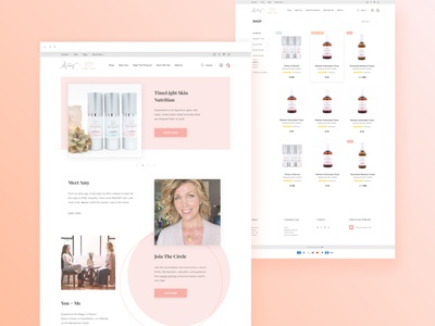 eCommerce Website Redesign for Premium Skincare Brand ui uxresearch uxdesign beauty product ageless ecommerce business shopify theme online shopping online shop ecommerce shop ecommerce design ecommerce shopify store webdesign website web design shopify skin skin care skincare