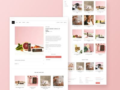Shopify Theme-Based Design for Lip and Body Care Products Brand squarespace migration lip balm shopify template shopify theme cosmetics cosmetic body care bodycare skin care skincare sustainable ecommence online shopping online shop shopify ecommerce shop shopify store ecommerce design ecommerce