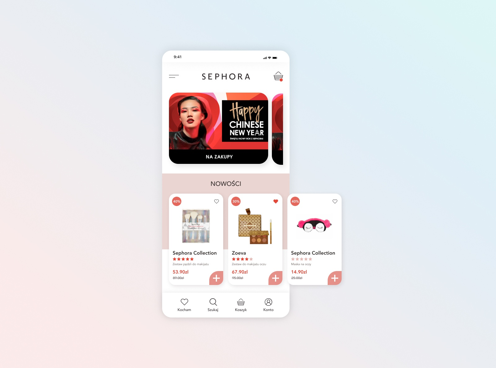 Sephora mobile concept