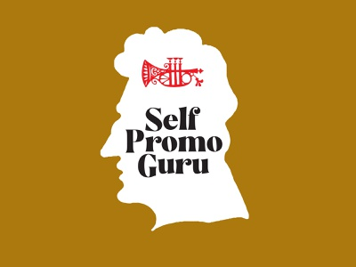 Self Promo Guru Logo promo 1970s branding logo typography graphic design illustration retro vintage design self promotion