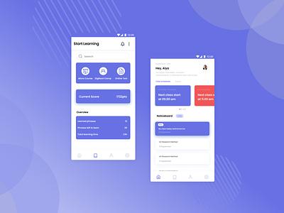UI/UX Design Learning apps design app design mobile apps ux design figma mobile app design mobile app mobile ui learning app user experience design user interface uxui uxdesign uidesign uiux