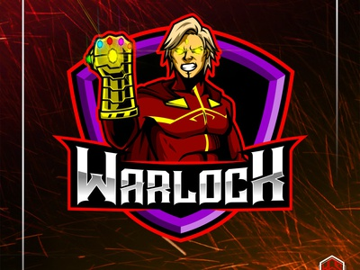 Adam Warlock with Infinity Gauntlet