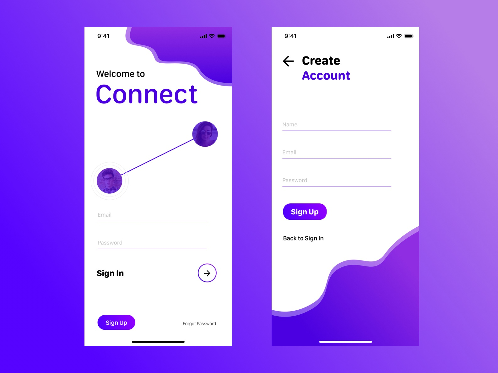 D1_UI Daily Challenge_ Sign Up dailyui flat app ui design