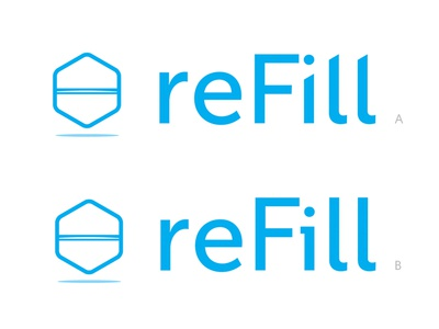 Refill A or B?