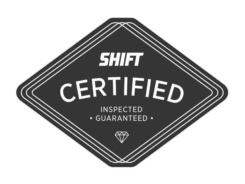 Shift certified mark