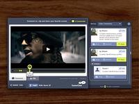 SceneChat Widget, Full View