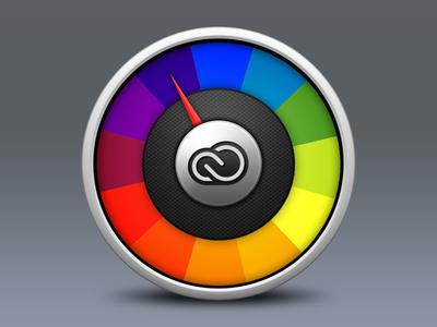 New Color Tool Icon creative cloud adobe color pixels icon