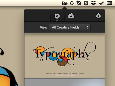 Upcoming Mac App osx cocoa design behance adobe