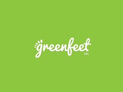 Greenfeet Inc. - Logo branding logo logo design brand identity green green feet feet