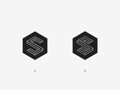 Isometric Exploration - S Mark s isometric mark logo s mark letter alphabet