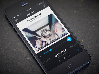 Grab Your Headphones! [Music Player] music player app ui ux design visual design music player