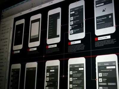 Wireframes Galore wireframe ui ux design app mobile sketch