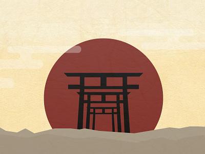 TORII illustration design