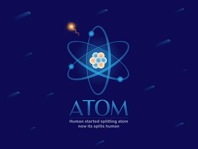 Atom atomic disaster atom
