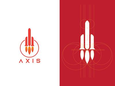 Rocketship logo aerolite spacex comet axis dailylogochallenge rocket logo rockets rocketship logo